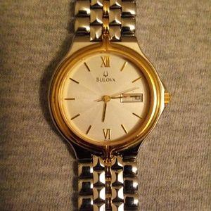 Men's ( vintage) Bulova watch.